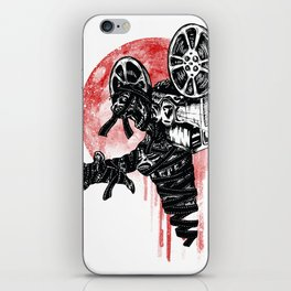 A Film By The Mummy iPhone Skin