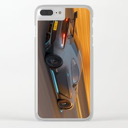 racecar aston Clear iPhone Case