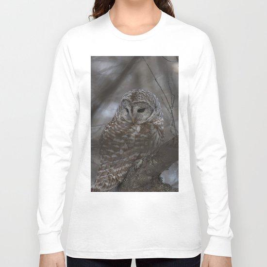Barred Owl Long Sleeve T-shirt