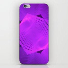 Ascending Pink Pentagram iPhone Skin