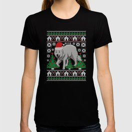 Great Pyrenees Ugly Christmas Sweater Holiday T-Shirt T-shirt