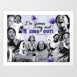 Sing Out Art Print