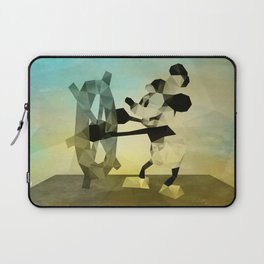 Mickey Mouse as Steamboat Willie Laptop Sleeve