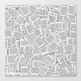 Literary Overload Canvas Print