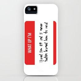 I'm Jared Vine iPhone Case