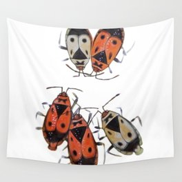 The measurement of space. Bedbugs Wall Tapestry