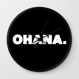 Ohana. Wall Clock