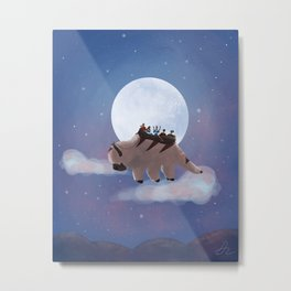 Appa: Under the Moon Metal Print
