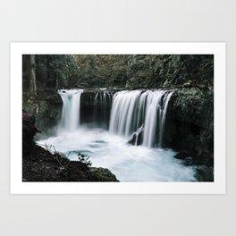 Waterfall Overhaul Art Print