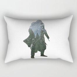Assassins Creed - Woodland 2 Rectangular Pillow