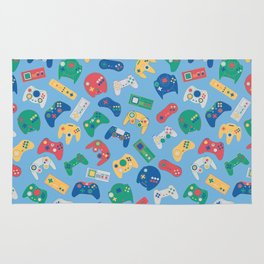 The world of controls colour Rug