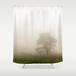 Through The Haze Shower Curtain