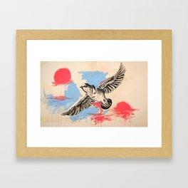 Fuck Happens Framed Art Print