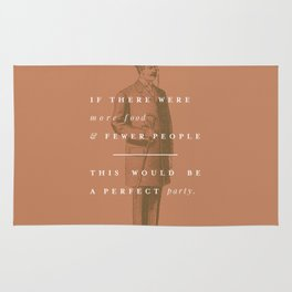 P + R Party Rug