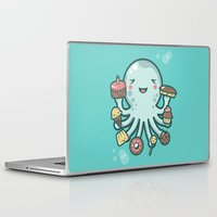 dessert Laptop & iPad Skins featuring Room for Dessert? by littleclyde