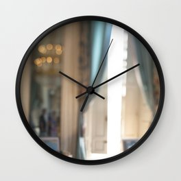 Watercolor Room Versailles Wall Clock