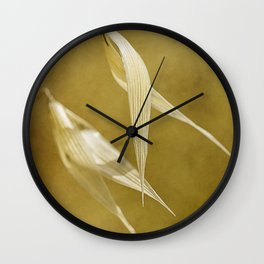 meadow banners #1 Wall Clock