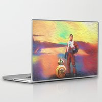poe Laptop & iPad Skins featuring Poe Dameron by DisPrints