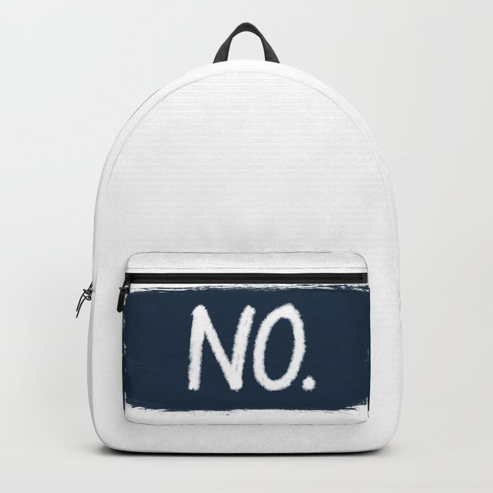 No. Backpack