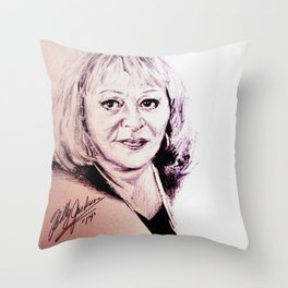Sylvia Browne Throw Pillow