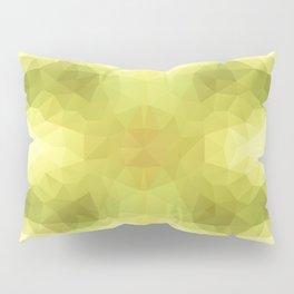 """Apple seeds"" triangles design Pillow Sham"