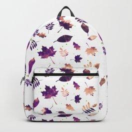 SUNSET LEAF PATTERN Backpack