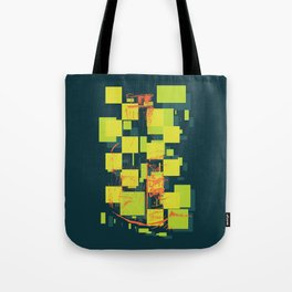 Color Orange Juice Illustration Tote Bag