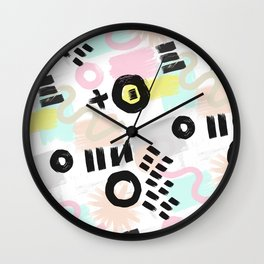 Ink Perception 003 Wall Clock