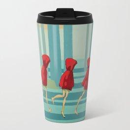 Five Little Riding Hoods I/III Travel Mug
