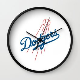 Los Angeles Dodger Wall Clock