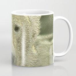 Metal Polar Bear Coffee Mug