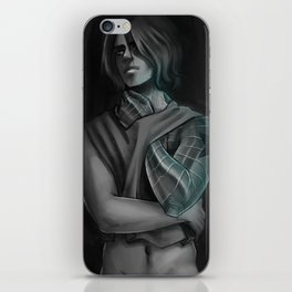 GREY BUCKY iPhone Skin