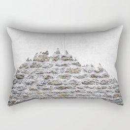Stone and Tree Rectangular Pillow