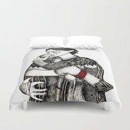 Letter from Varric Duvet Cover