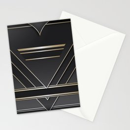 Art deco design IV Stationery Cards