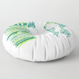 Peter Pan and Tiger Lilly Floor Pillow