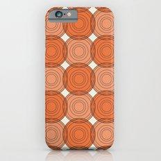 Red & Orange Circles Slim Case iPhone 6s