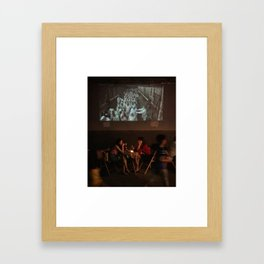 Summer Evening   Hutong Living Framed Art Print