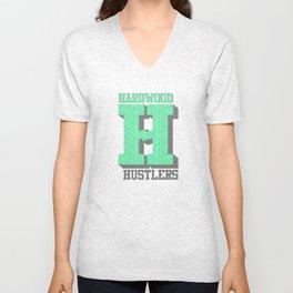 Hardwood Hustlers Unisex V-Neck