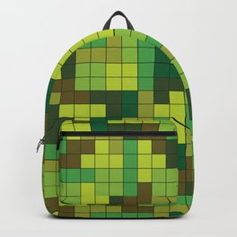 Tetris Camouflage Forest Backpack