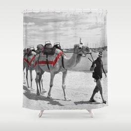 Geelong Camel Walk Shower Curtain