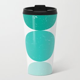 turquoise i 001 Metal Travel Mug