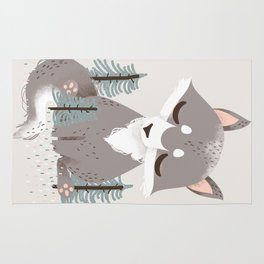 """The """"Animignons"""" - the Wolf Rug"""