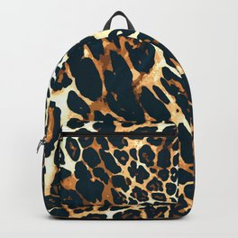 Leopard Spotted Animal Print Backpack