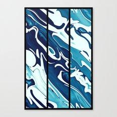 Earth's Oceans Canvas Print