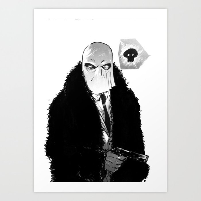 """""""I'm that bad mother f------ called Stagger Lee"""" Art Print"""