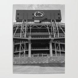 The Lion's Den Penn State Football Print Poster