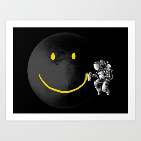 Make a Smile Art Print