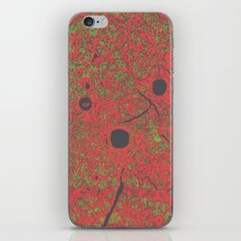 psychedelic cell pt5 iPhone Skin
