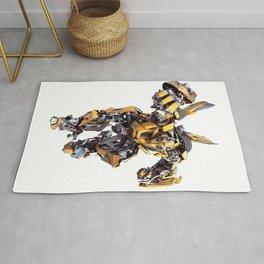 Bumblebee Auobot Transformer Rug